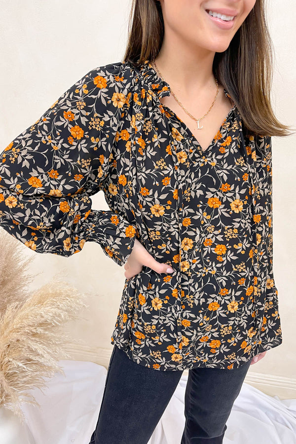 Time After Time Floral Top
