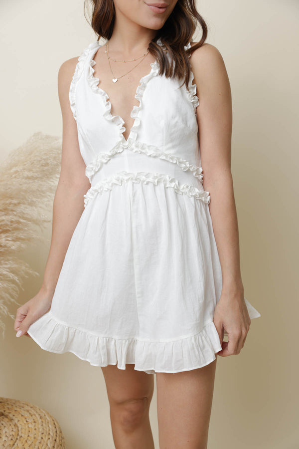 Magic Moments White Romper