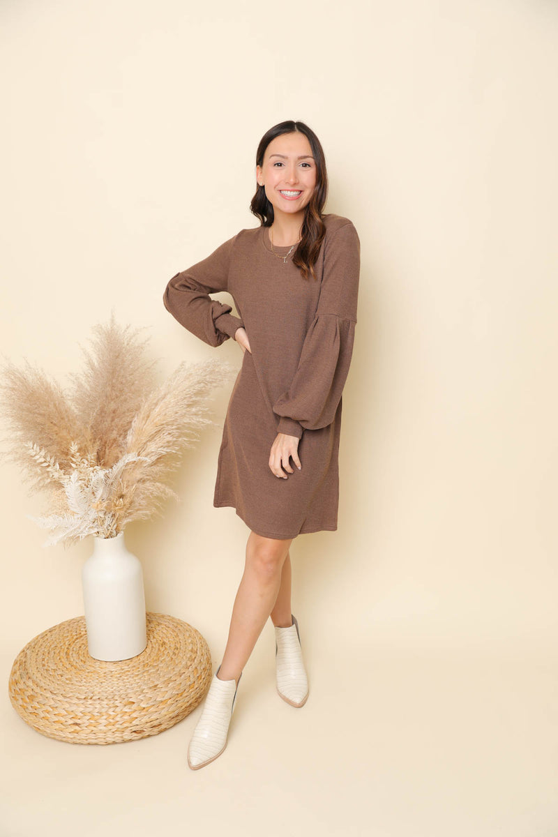 Northeastern Road Trip Sweater Dress