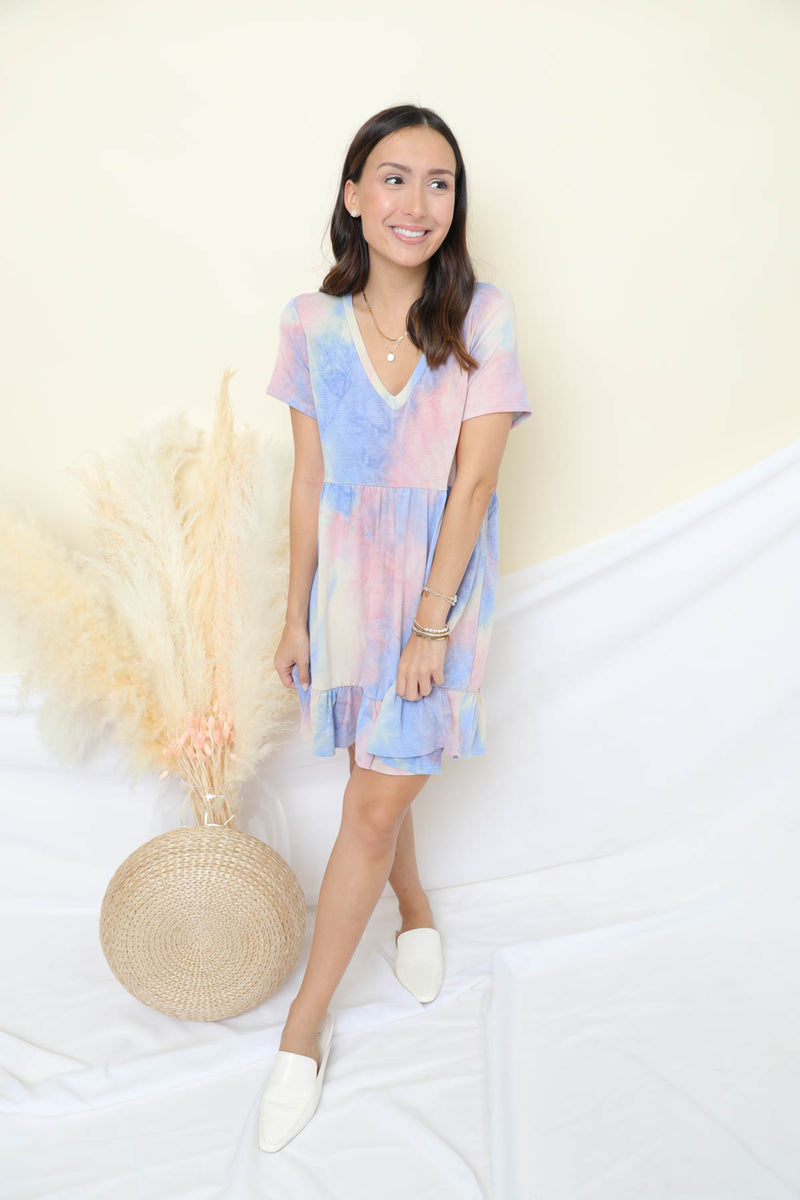 Look For You Tie-Dye Dress