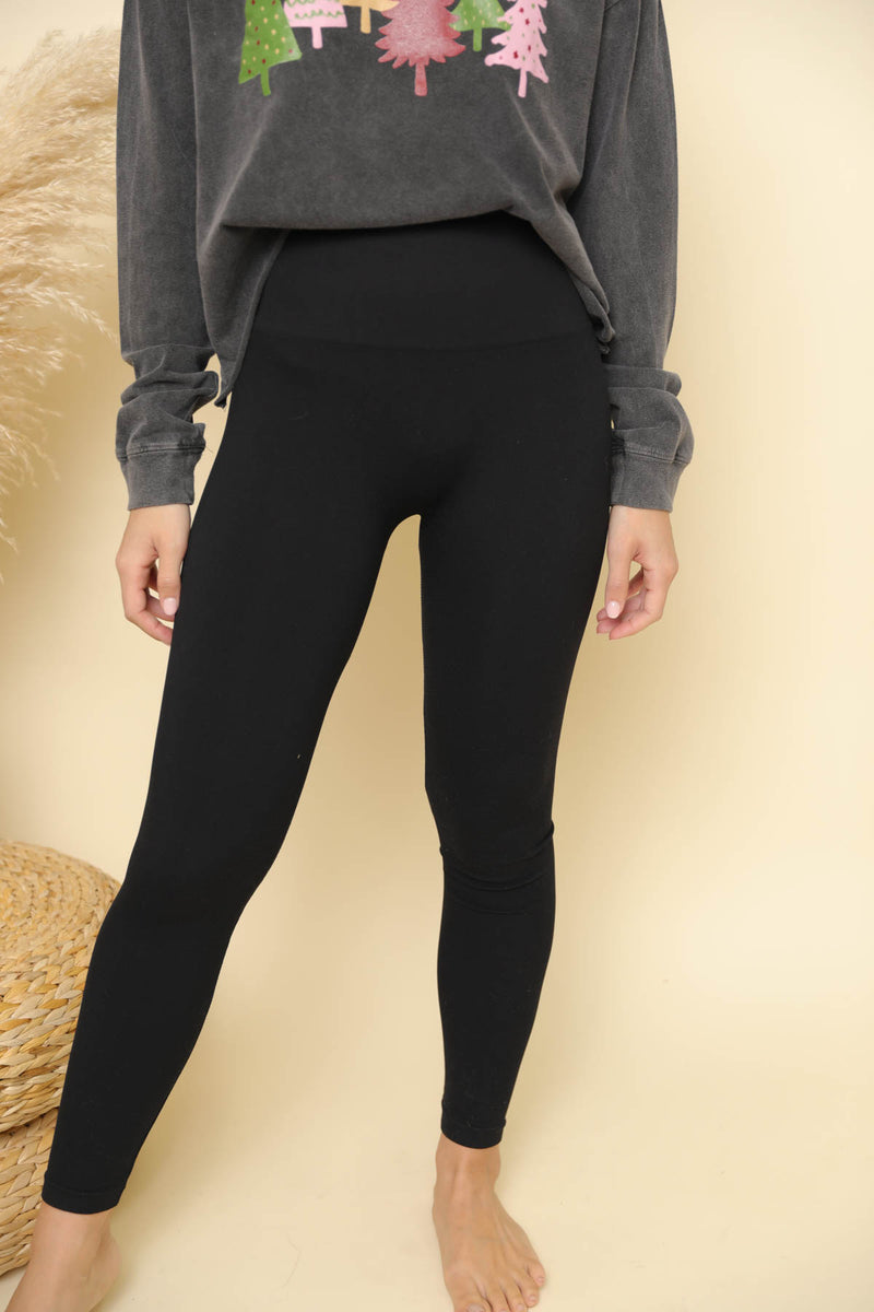Heidi Black Leggings