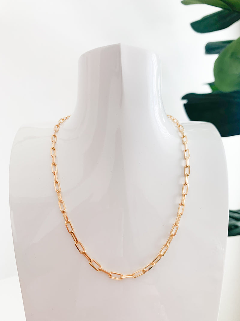 "Nikki E. Designs 18"" Large Link Chain Necklace"
