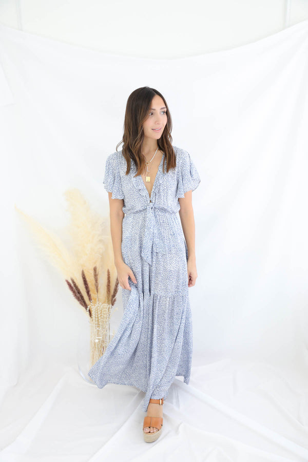 Best Of Me Blue Jumpsuit