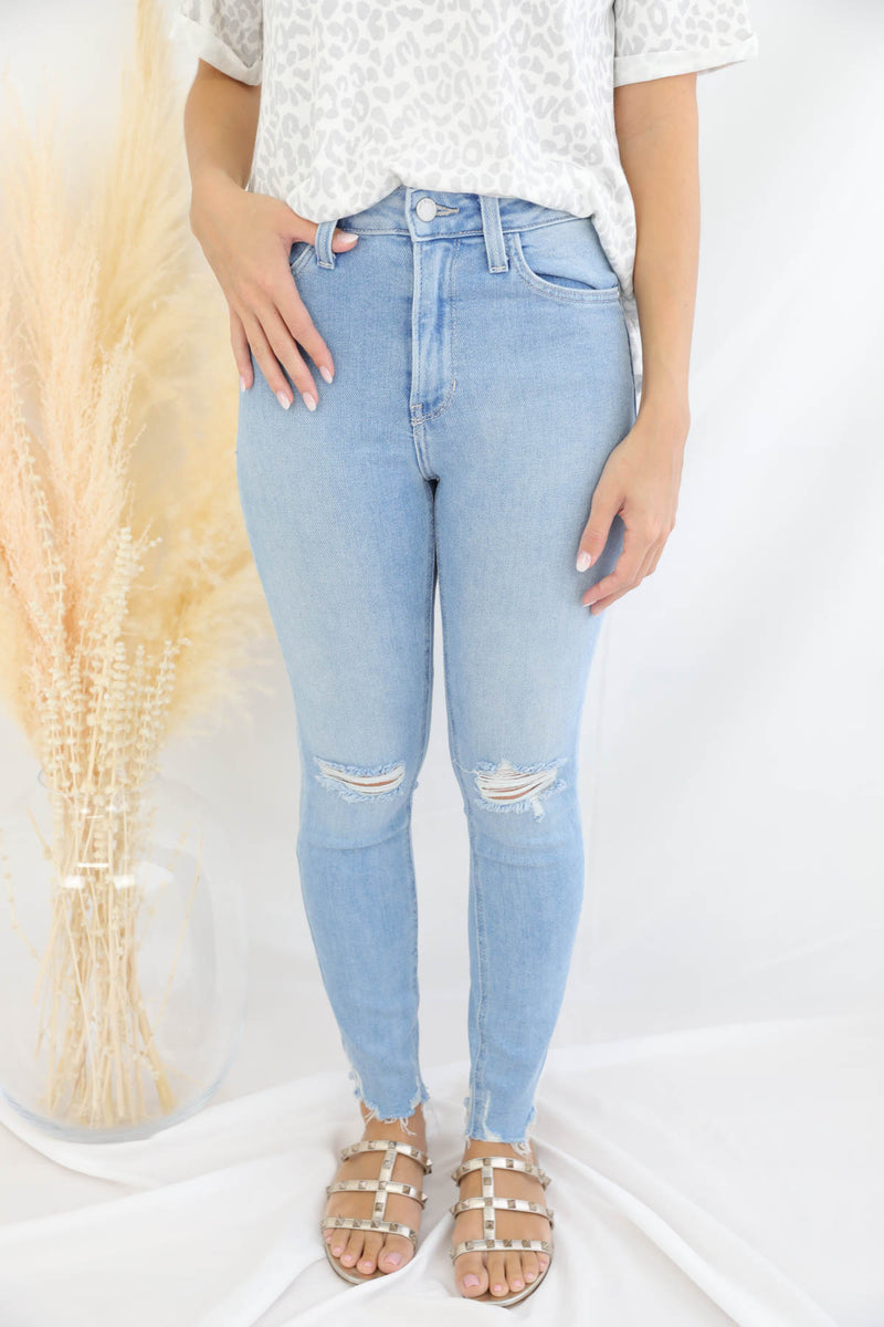 Kennedy Distressed Skinny Jeans