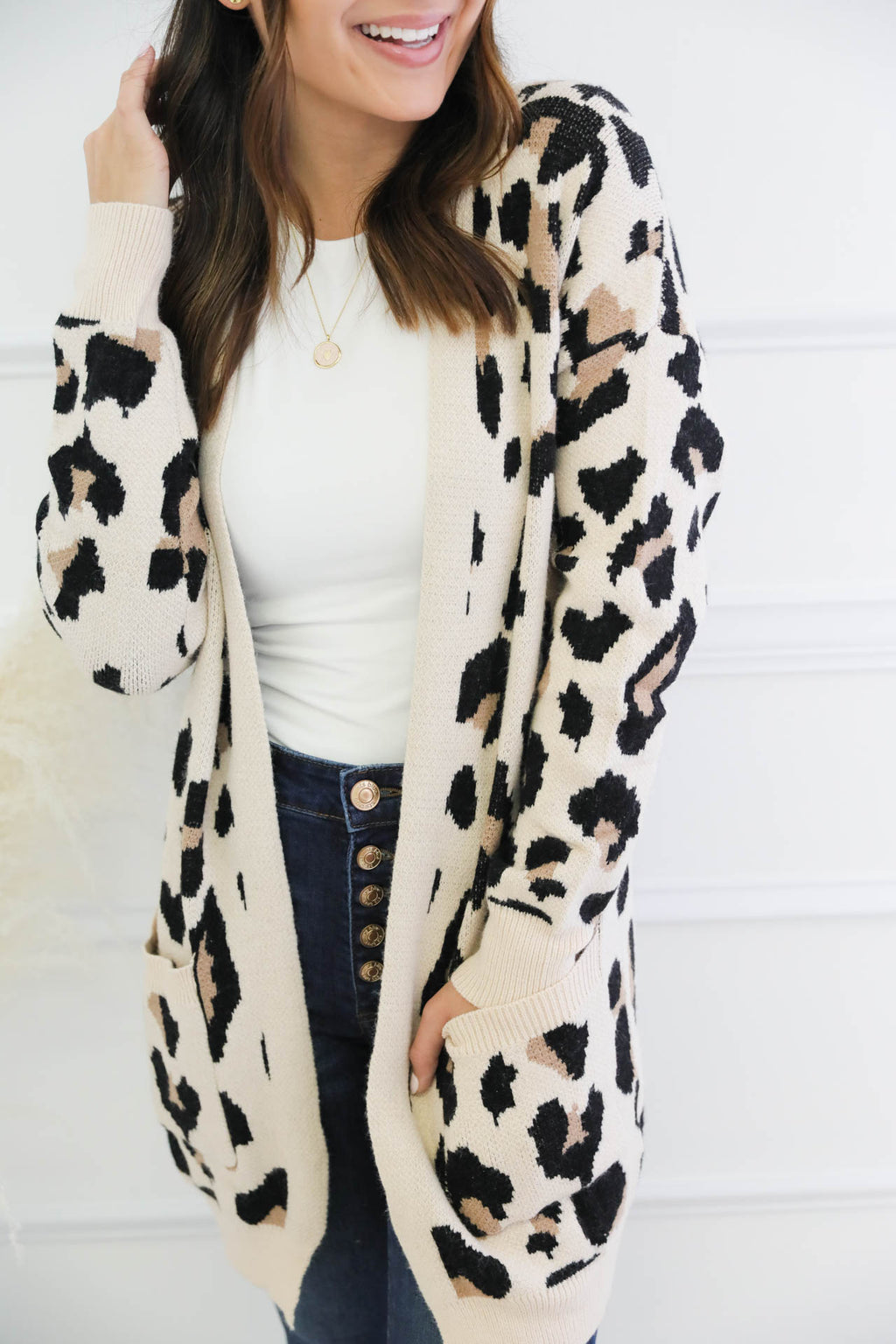 Kinsley Leopard Cardigan
