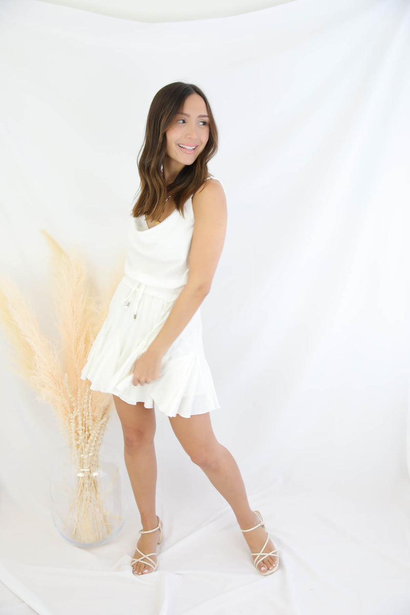 Pacific Coast White Romper
