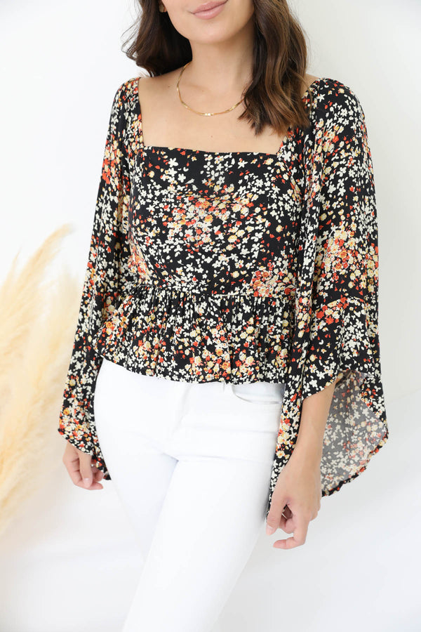The Indiana Floral Top