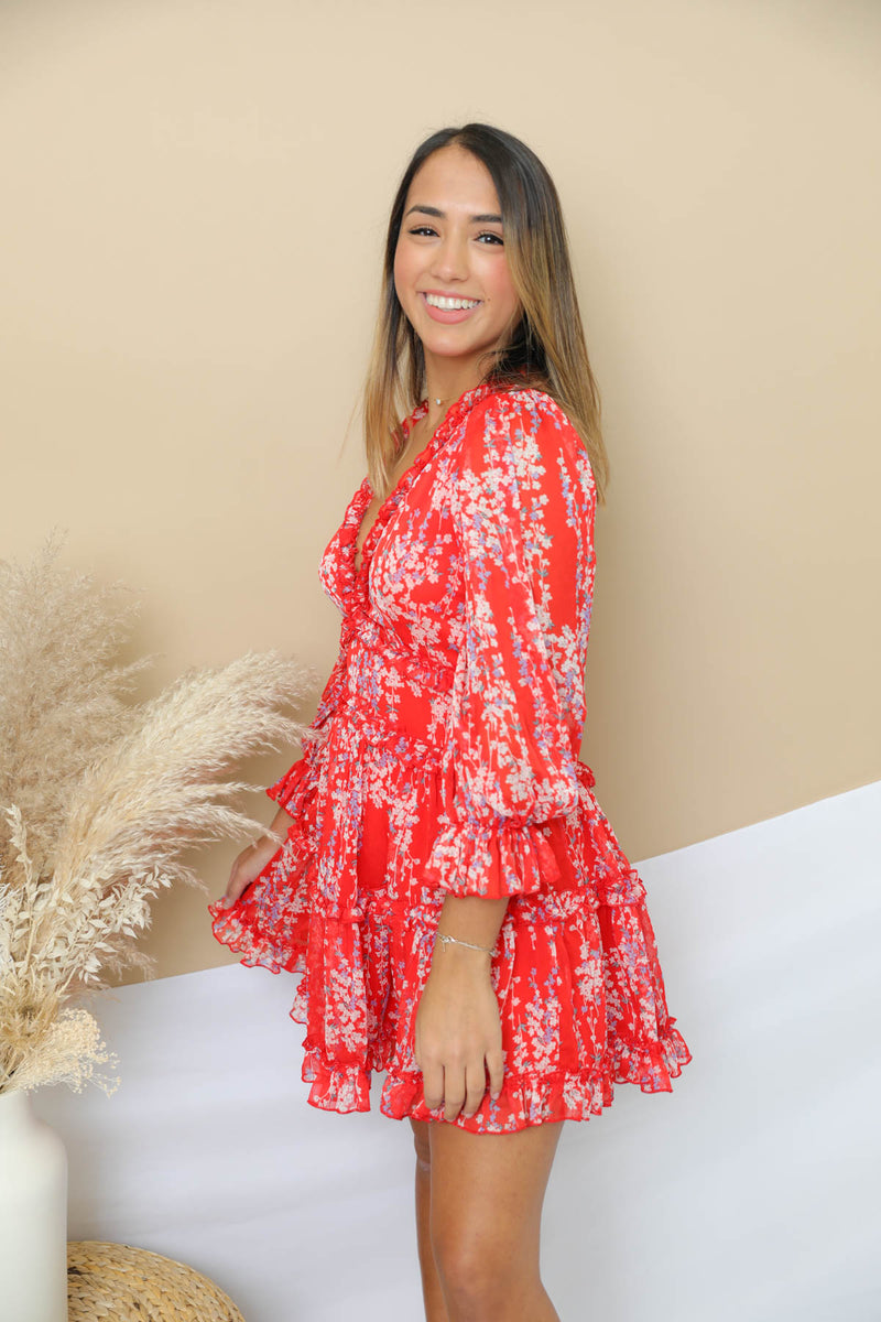 The Alessandra Red Dress