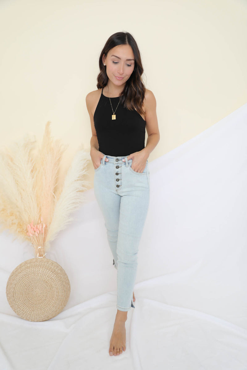 Genevieve Black Top