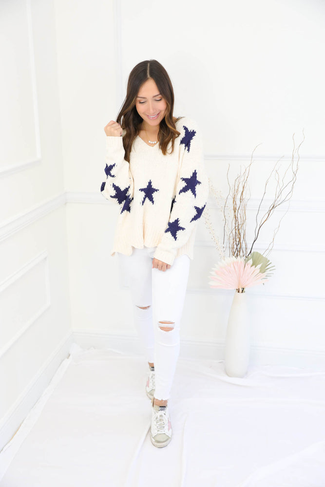 Light Of My Life Star Sweater