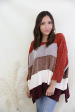 Skyler Striped Sweater