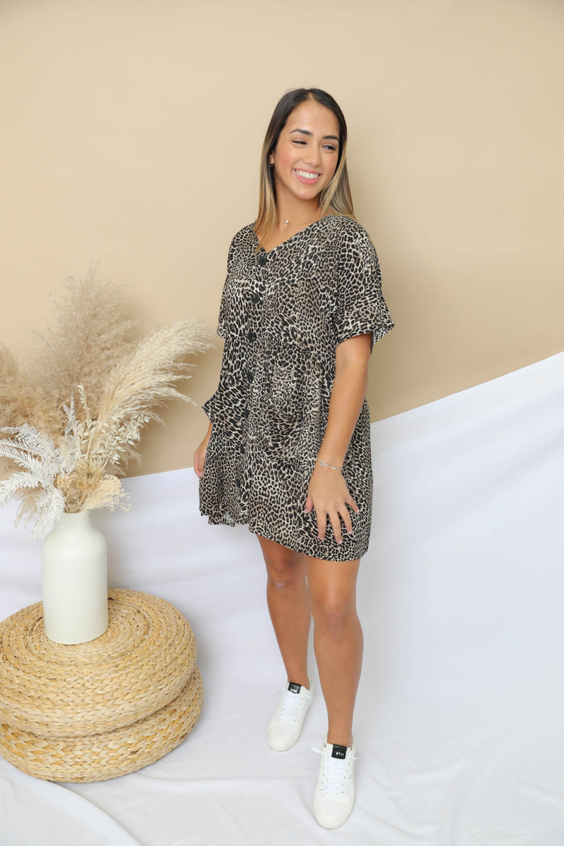 Wish You Well Leopard Dress