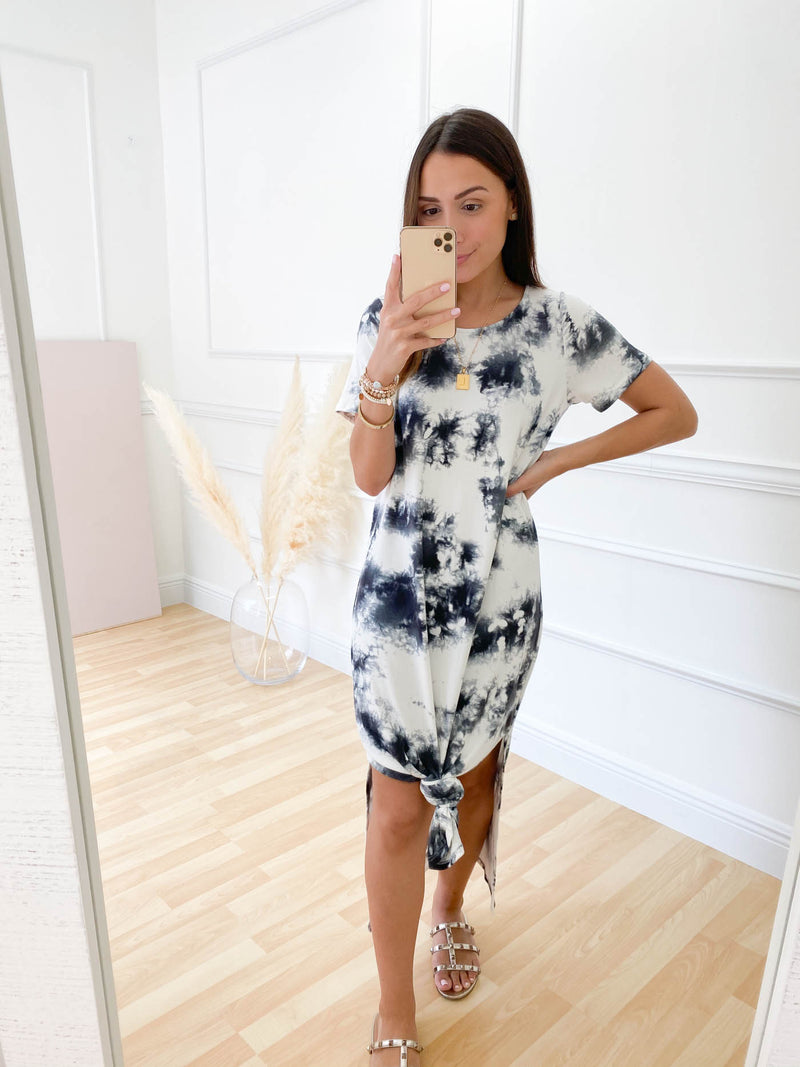 Let's Be Together Tie Dye Midi Dress