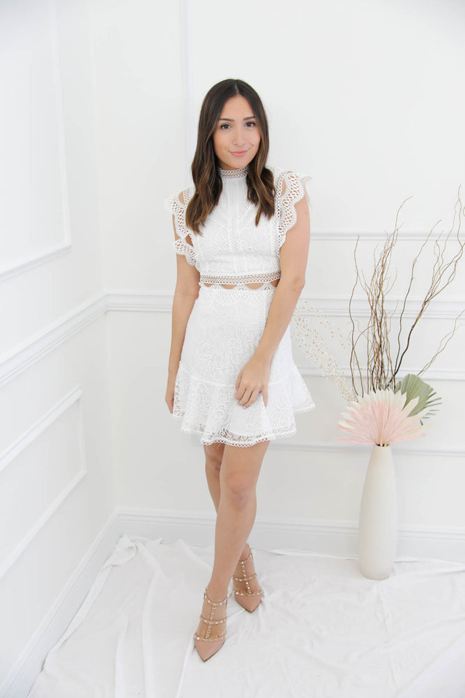 Love At First Sight White Dress