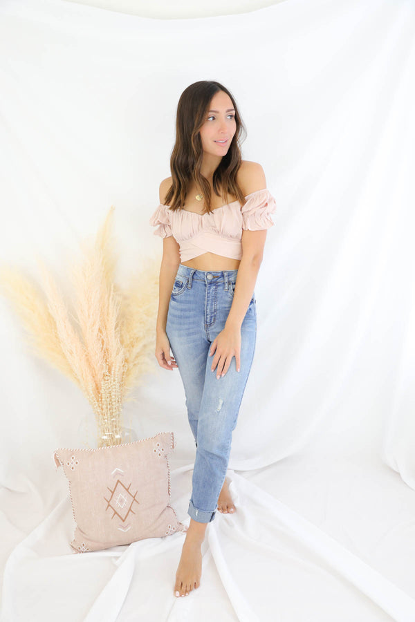 Love Story Top - Nude