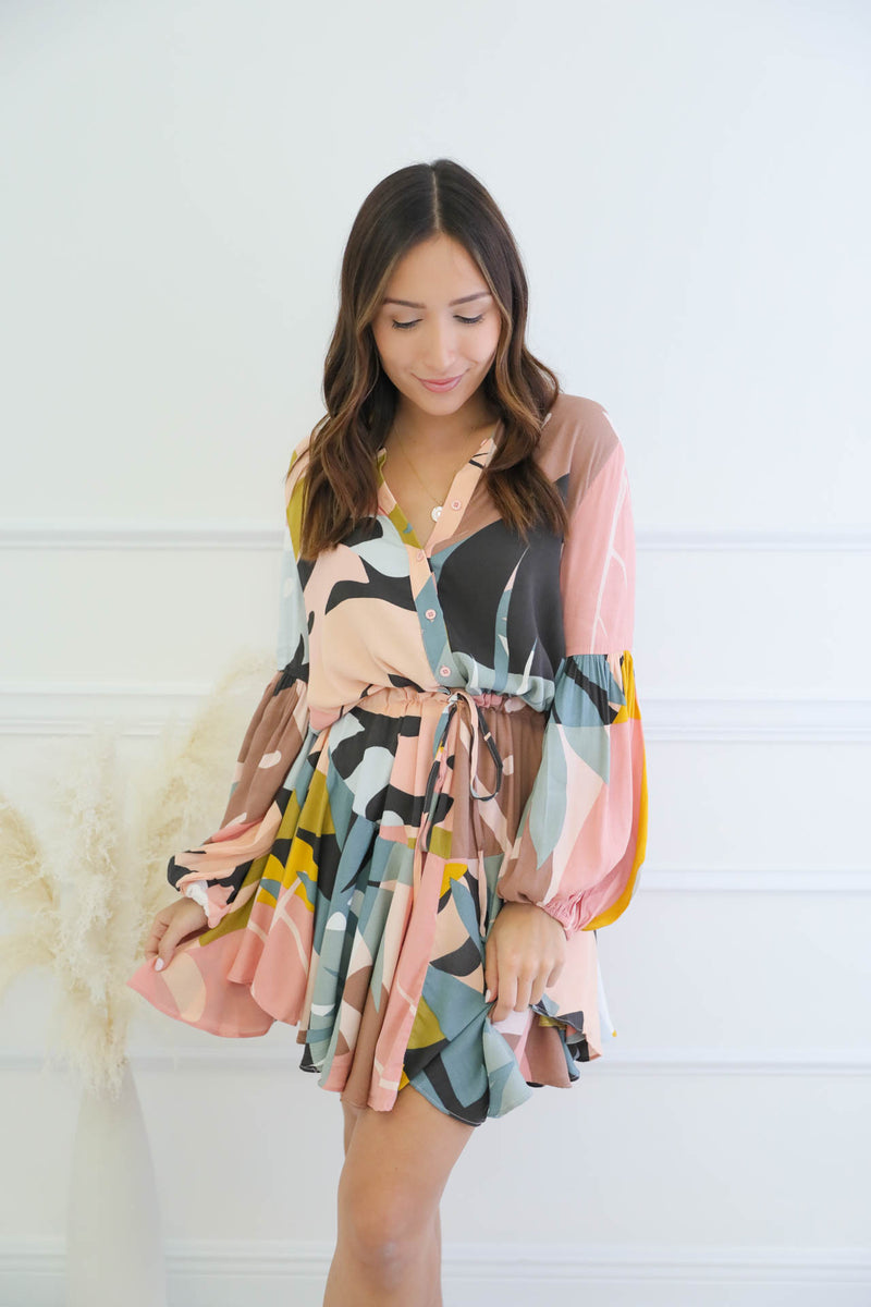 Wild Love Printed Dress