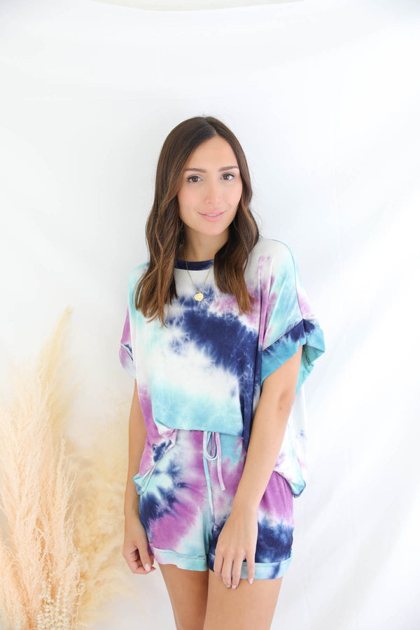 Long Story Short Tie Dye Set
