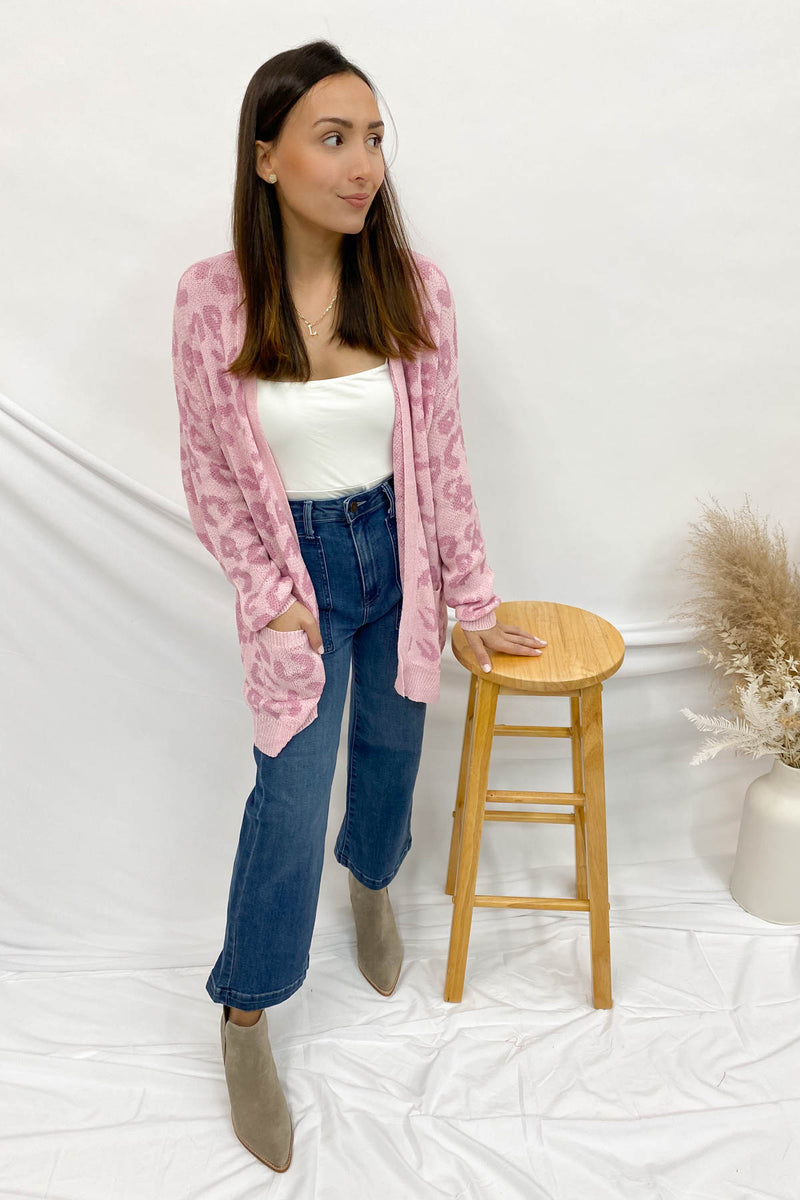 The Way We Planned It Pink Cardigan