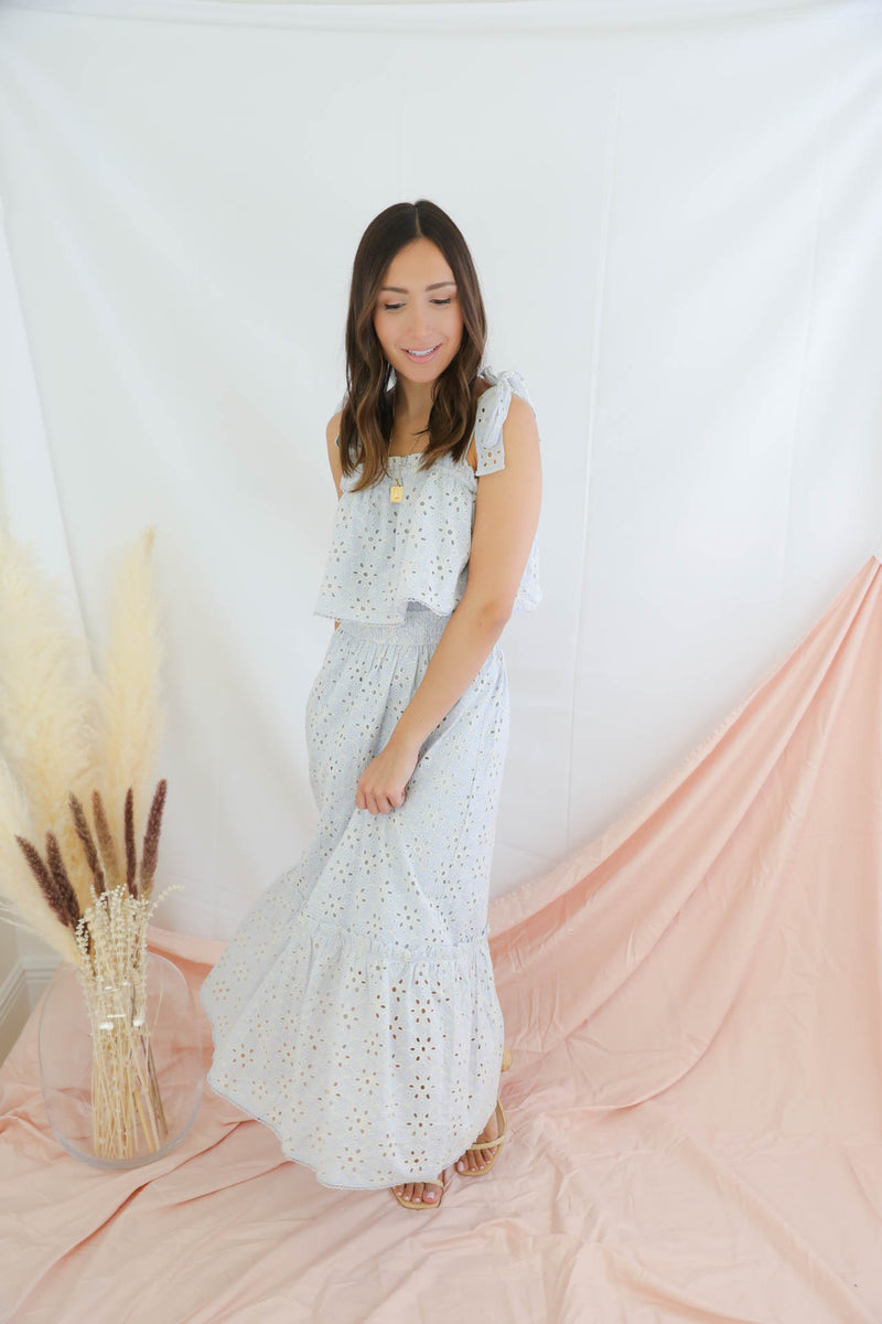 This Is Our Fate Eyelet Dress