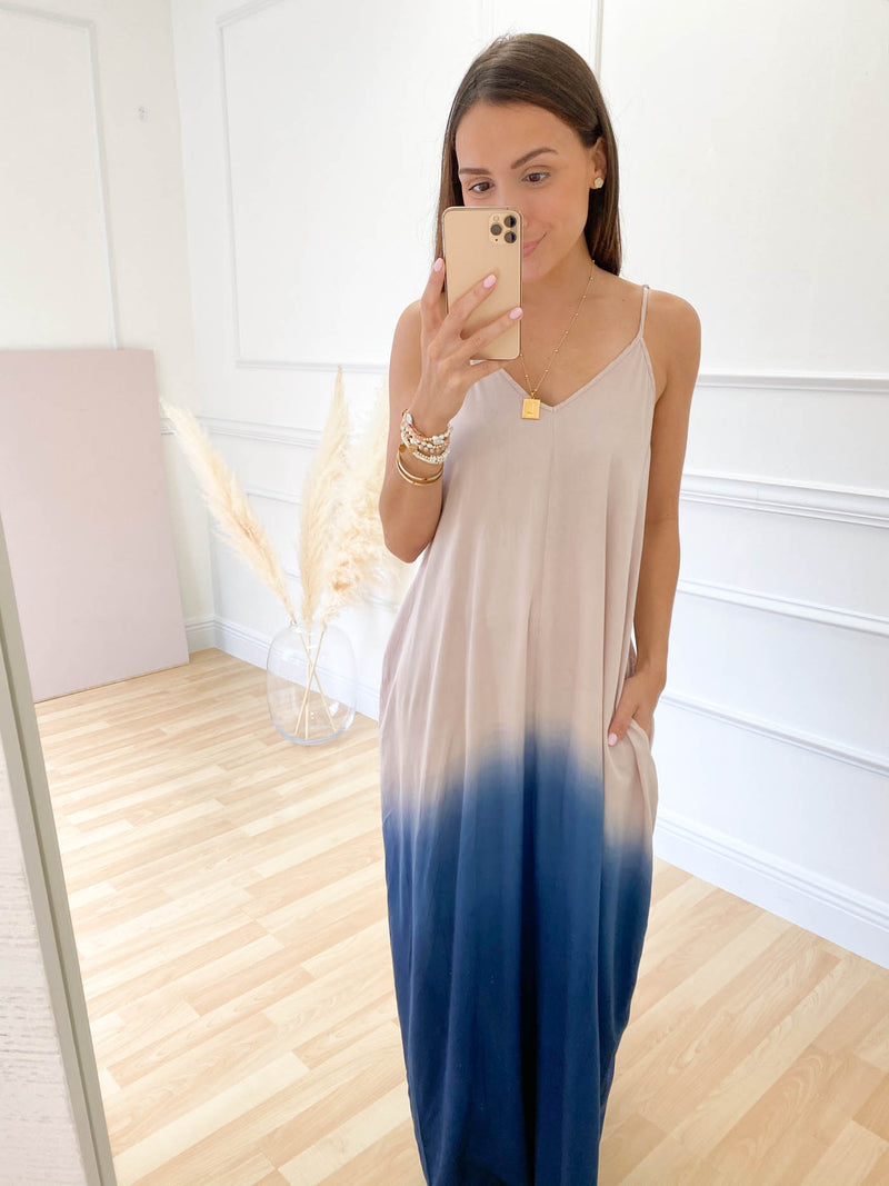 Let's Meet For Lunch Maxi Dress