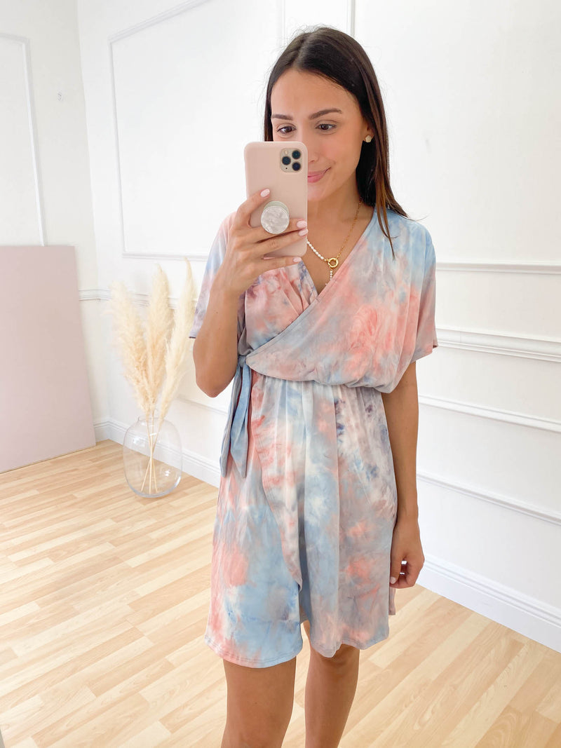 Not What It Seems Tie Dye Dress