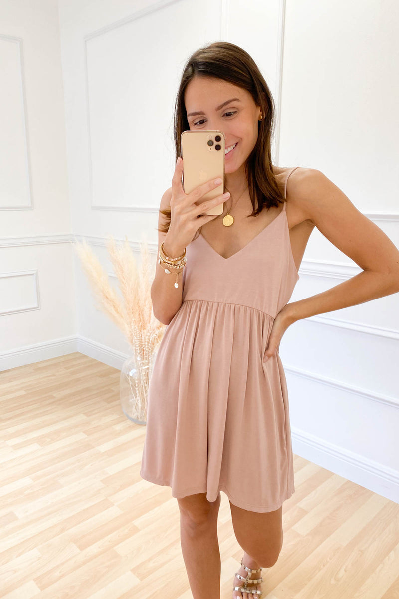 Own Up To It Blush Romper