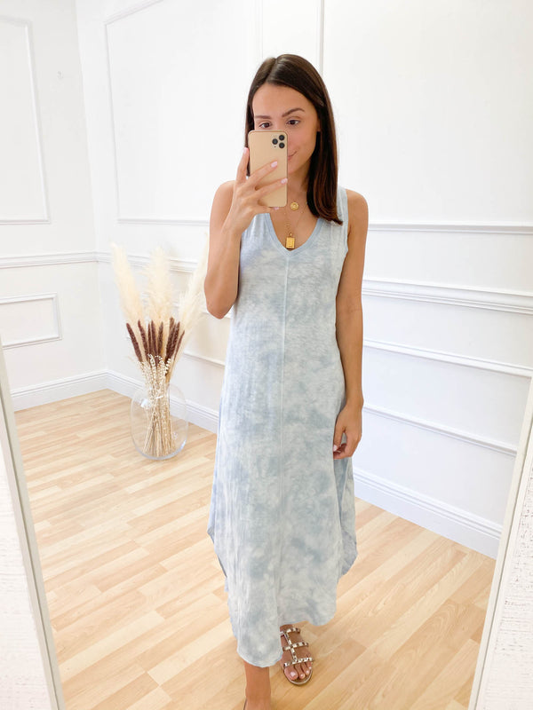 Z Supply Cloud Tie Dye Dress