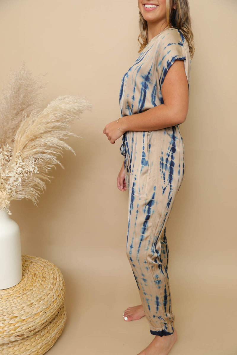 Wynwood Walks Tie-Dye Jumpsuit
