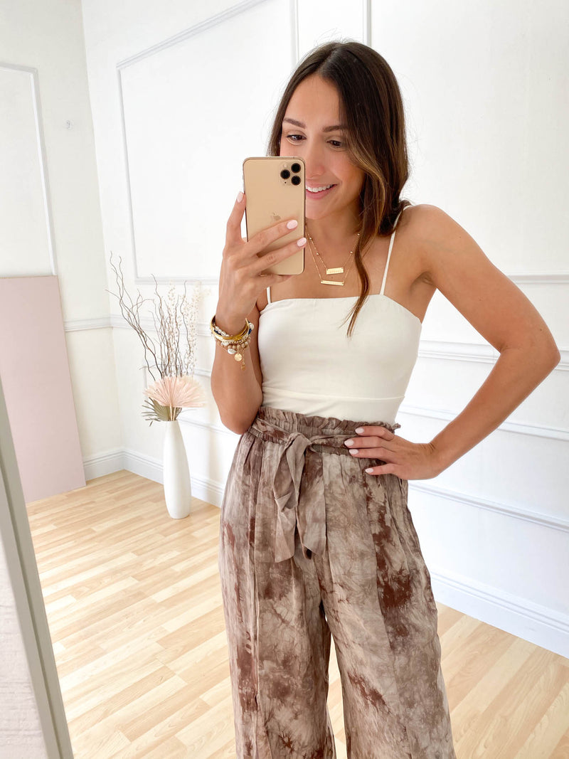 Giselle Cami Crop Top