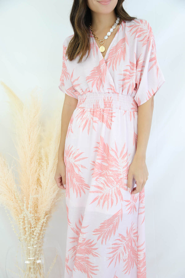 How Sweet It Is Leaf Maxi Dress