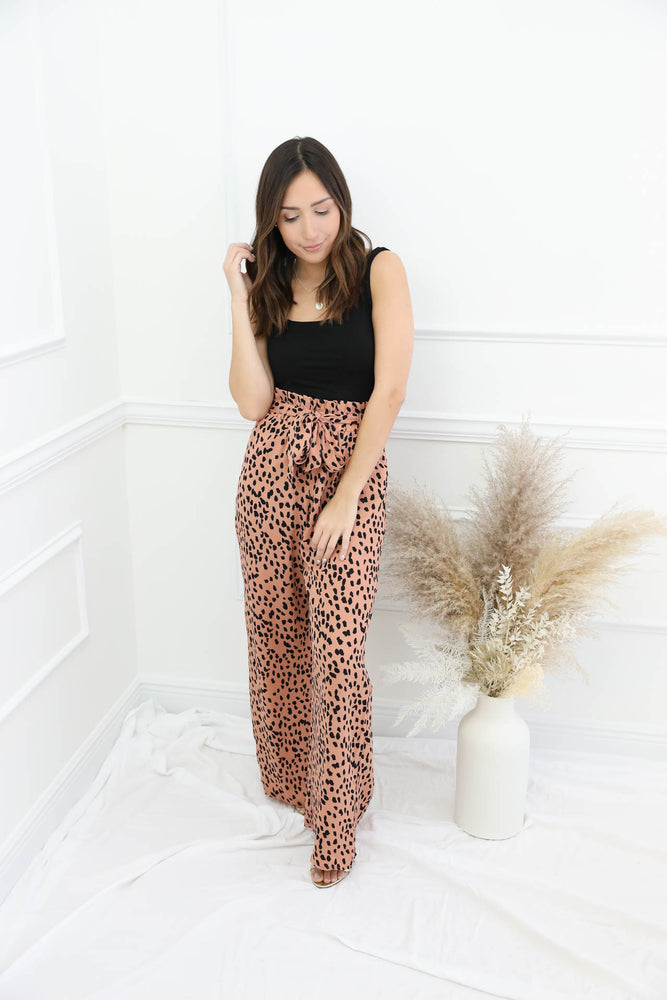 Still Standing Printed Pants