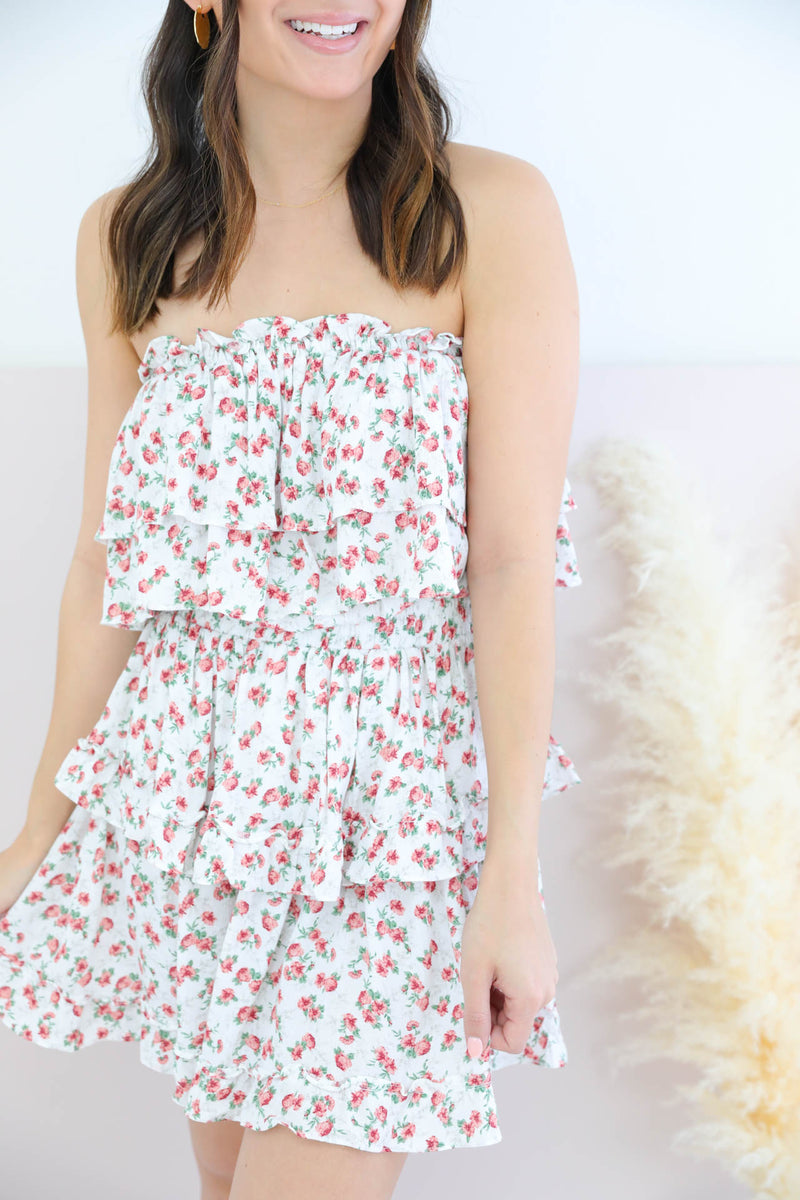 People Pleaser Floral Dress