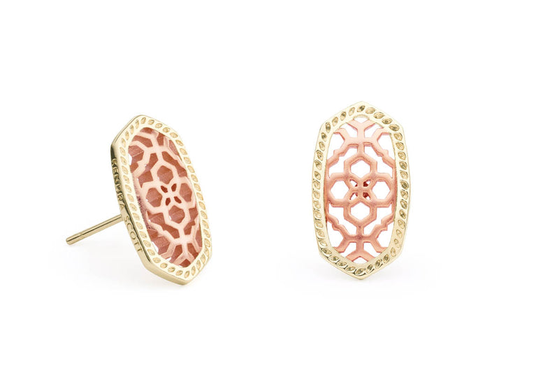 Kendra Scott Ellie Earring - Rose Gold Filigree