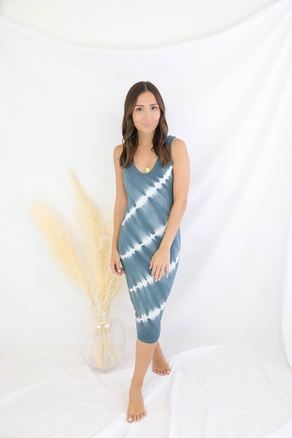 Khloe Tie Dye Dress