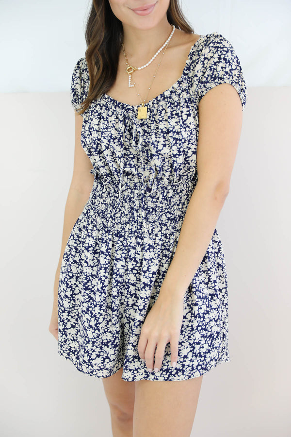 Where To Start Floral Romper