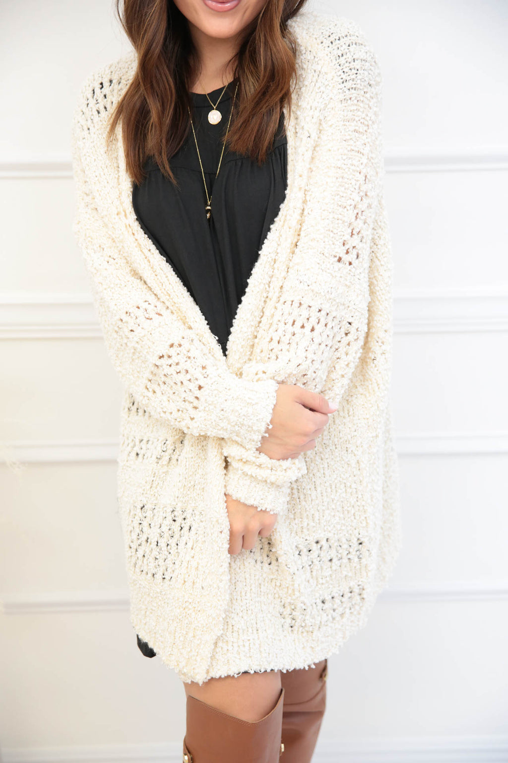 Something Big Knitted Cardigan