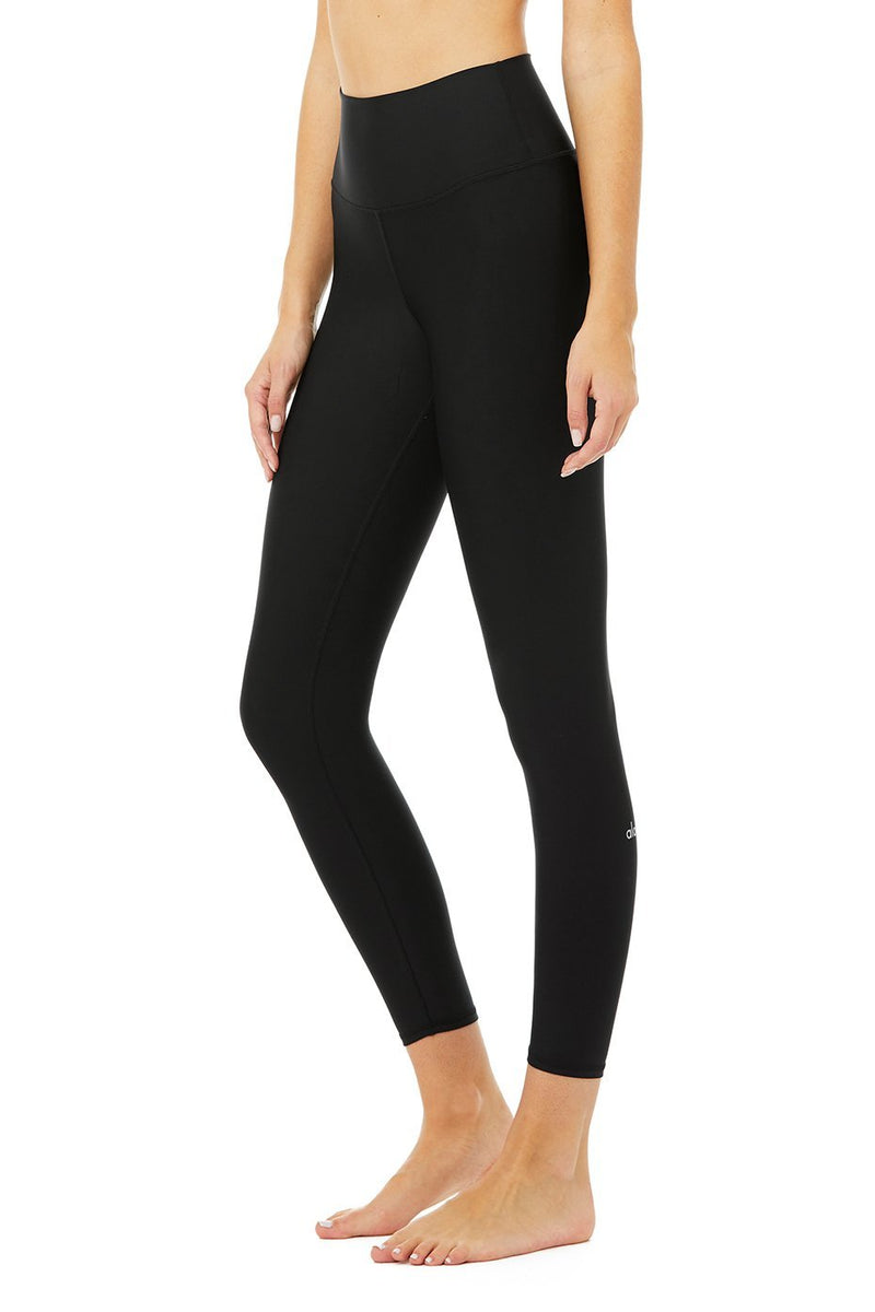 Alo Yoga 7/8 Black High-Waist Airlift Legging