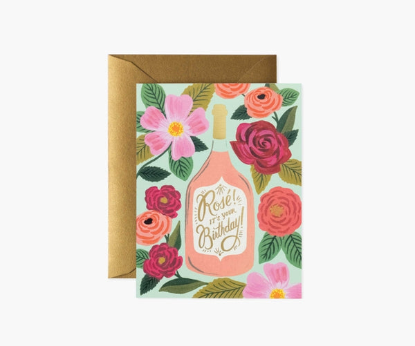 Rifle Paper Co. Rosé It's Your Birthday Card