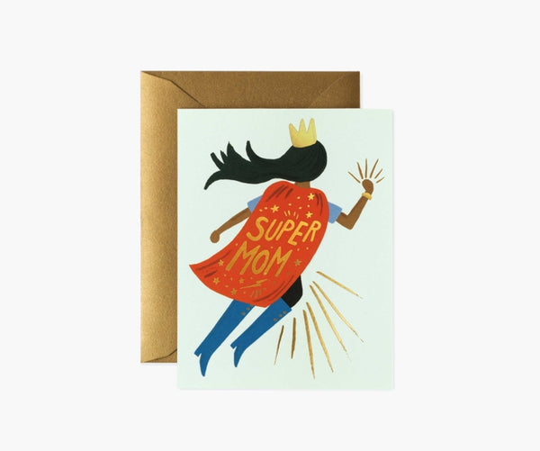 Rifle Paper Co. Super Mom Mint Card