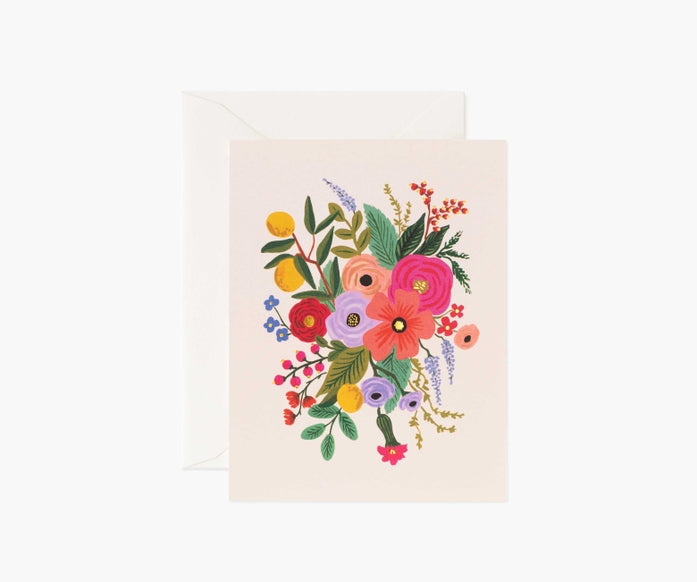 Rifle Paper Co. Garden Party Blush Card