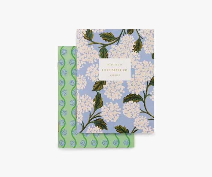 Rifle Paper Co. Hydrangea Pocket Notebook