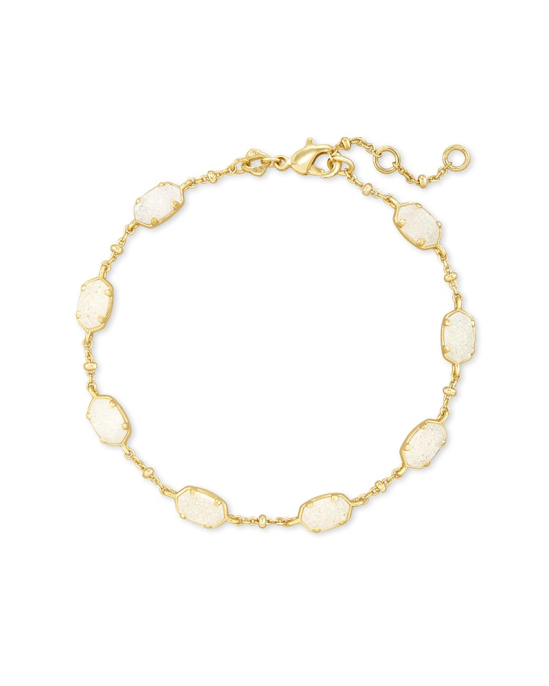 Kendra Scott Rose Mother of Pearl Emilie Link Bracelet