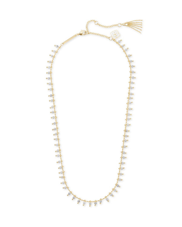 Kendra Scott Jenna White Howlite Choker Necklace