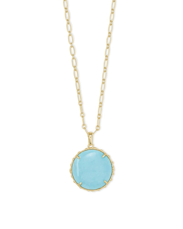 Kendra Scott Light Blue Magnesite Natalie Pendant Necklace
