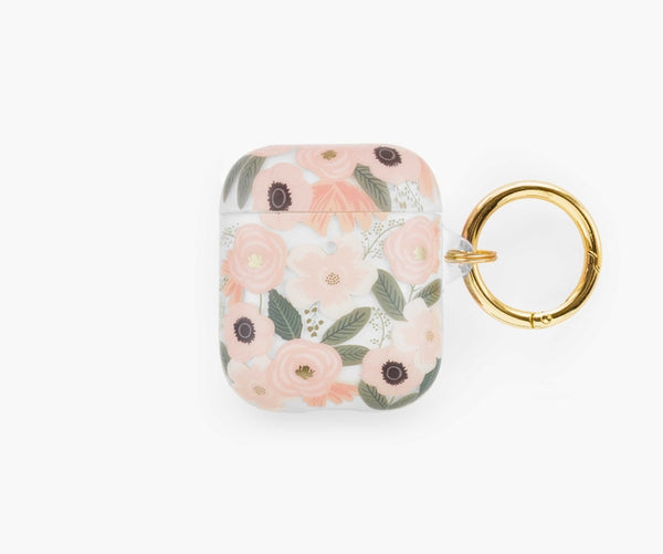 Rifle Paper Co. Clear Wildflowers AirPods Case