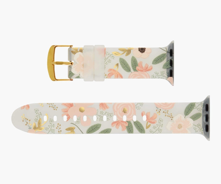 Rifle Paper Co. Apple Watch 38-40mm Wild Flowers Band