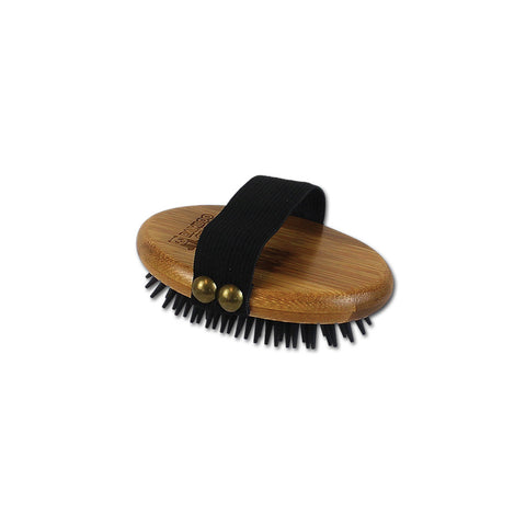 Curry Brush with Rubber Bristles