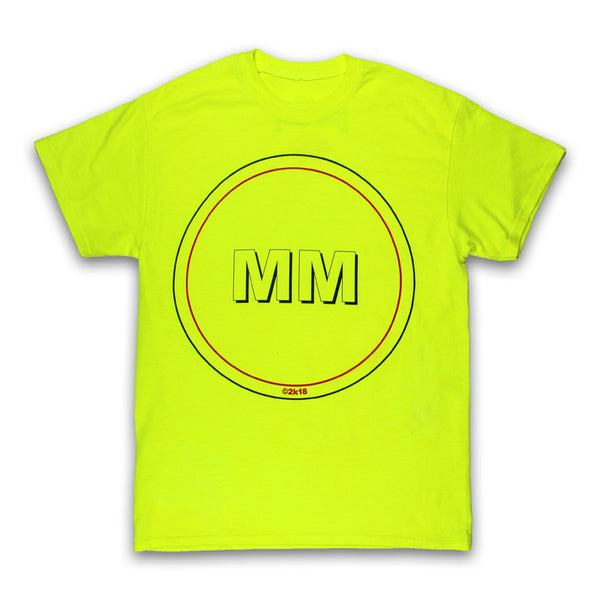 YELLOW CIRCLE MM T-SHIRT