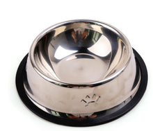 Stainless Steel Classic-Style Dog Dish