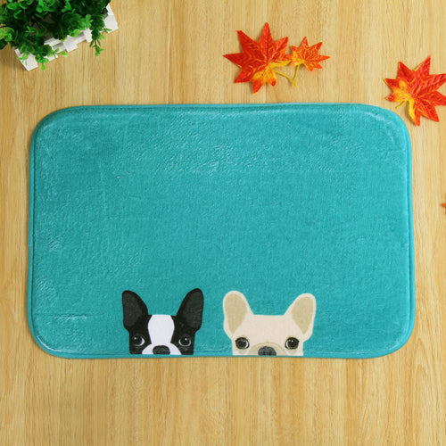Whimsical Puppy Mat